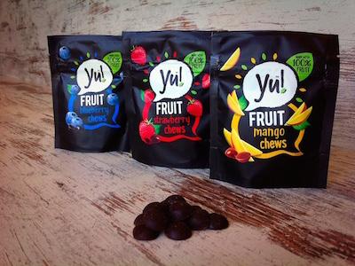 De Yu! fruitsnoepjes verdienen een plek tussen onze gezonde tussendoortjes