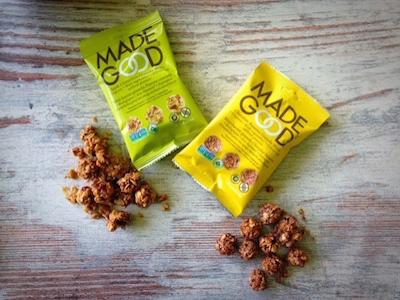 De MadeGood granola balletjes verdienen een plek tussen onze gezonde tussendoortjes