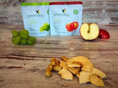 De vriesgedroogde vruchten van Greenday verdienen een plek tussen onze gezonde tussendoortjes
