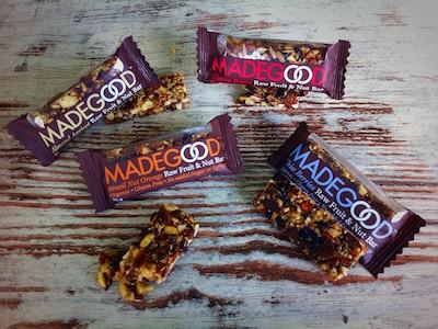 De MadeGood granola repen verdienen een plek tussen onze gezonde tussendoortjes