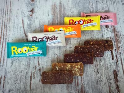 De Roo'bar superfood repen verdienen een plek tussen onze gezonde tussendoortjes
