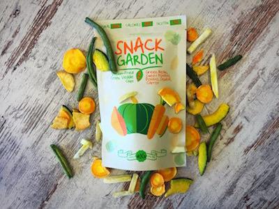De knapperige groentechips van Snackgarden verdient een plek tussen onze gezonde tussendoortjes
